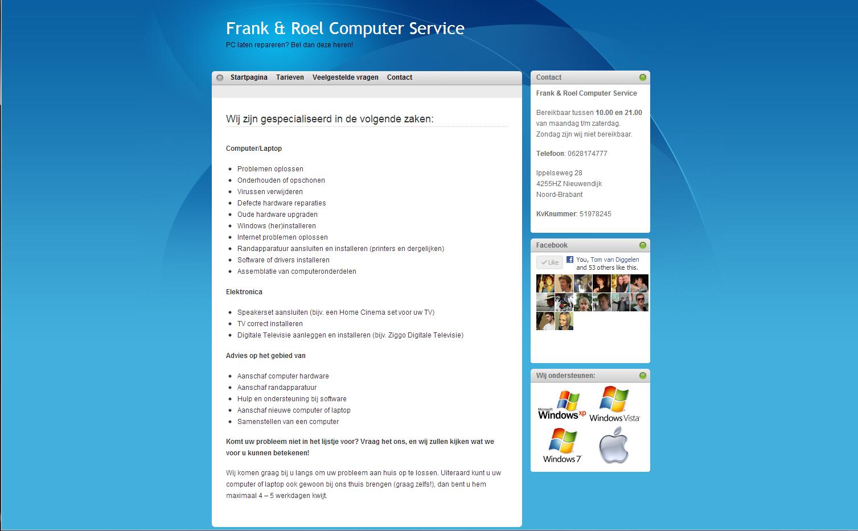 Frank en Roel Computer Service